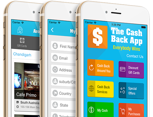 iPhone the cash back app